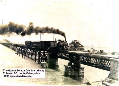 A Ponte em meados de 1936